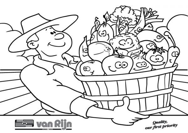 Kleurplaten Verjaardag Papa 43 Jaar Kleurplaat Fruitschaal Fruitschaal Kiddicolour